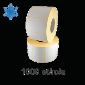 Role etichete termice ZINTA 58x43mm pentru congelate Top Thermal 1000 et./rola imagine