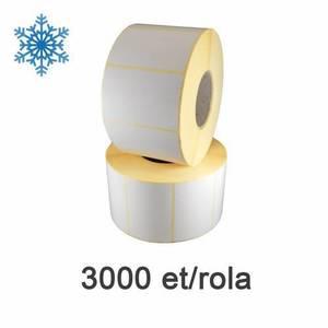 Role etichete termice ZINTA 100x50mm pentru congelate 3000 et./rola imagine