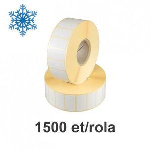 Role etichete termice ZINTA 35x25mm pentru congelate 1500 et./rola imagine
