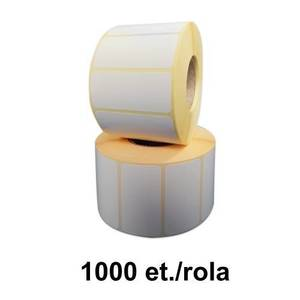 Role etichete termice ZINTA 55x25mm pentru congelate 1000 et./rola imagine