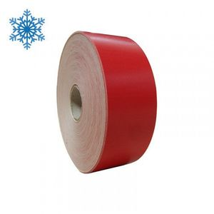 Role autocolant termic continuu ZINTA pentru congelate 58mm x 158m rosii imagine