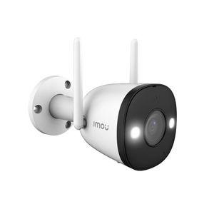 Camera supraveghere IP WiFi Dahua Full Color IMOU Bullet 2 IPC-F42FEP, 4 MP, IR 30 m, 2.8 mm, microfon, sirena, spotlight, detectie umana imagine