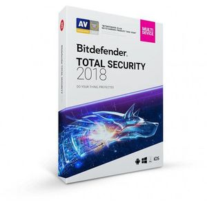 Bitdefender Total Security Multi-Device 2018 3 PC-uri 1 an BOX imagine