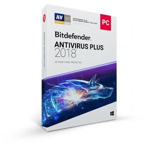 Bitdefender Antivirus Plus 2018 1 PC 1 an licenta electronica imagine