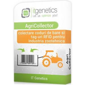 ITG AgriCollector - colectare coduri de bare si tag-uri RFID cu terminale mobile in agricultura imagine