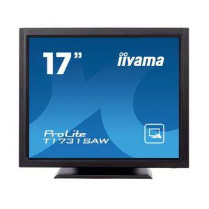 Monitor POS touchscreen iiyama ProLite T1731SAW 17 inch SAW negru imagine