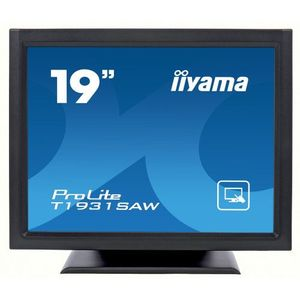 Monitor POS touchscreen iiyama ProLite T1931SAW 19 inch SAW negru imagine