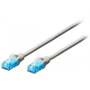 Patch cord Digitus CAT 5e UTP Cu PVC 0.5 m imagine