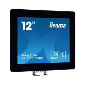 Monitor POS touchscreen iiyama ProLite TF1215MC-B1 12 inch PCAP negru imagine