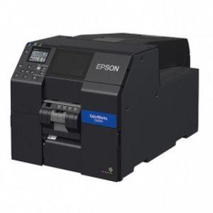 Imprimanta de etichete Epson ColorWorks C6500PE (mk) print mat peeler imagine