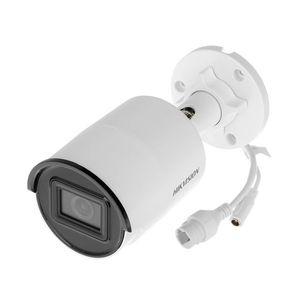 Camera supraveghere IP exterior Hikvision AcuSense DarkFighter DS-2CD2086G2-I28, 8 MP, IR 40 m, 2.8 mm, slot card, PoE imagine