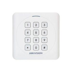 Cititor de proximitate cu tastatura RFID Hikvision DS-K1801MK, Mifare, 13.56 MHz, interior/exterior imagine