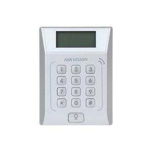 Cititor de proximitate cu tastatura RFID Hikvision DS-K1T802M, Mifare, 13.56 MHz, 3.000 carduri, 10.000 evenimente, watchdog imagine