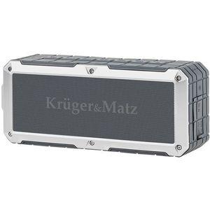 Boxa Portabila Kruger&Matz Discovery KM0523, Bluetooth, NFC, Handsfree, AUX (Gri) imagine