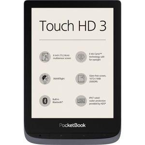 E-Book Reader PocketBook Touch HD 3, Ecran Carta e-ink 6inch, 16GB, Bluetooth, Wi-Fi (Negru) imagine