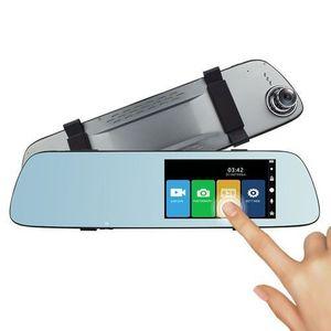 Camera auto DVR PNI Voyager S2000, Full HD incorporata in oglinda retrovizoare, 170 grade, touchscreen IPS 5inch, camera marsarier 120 grade VGA (Negru) imagine