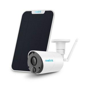 Camera supraveghere IP wireless Reolink Argus ECO, 2 MP, IR 10 m, 5200 mAh, slot card, PIR, microfon + panou solar imagine