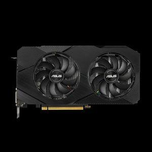 ASUS Dual -RTX2060-O6G-EVO plăci video NVIDIA DUAL-RTX2060-O6G-EVO imagine