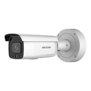 Camera supraveghere IP Dome Hikvision AcuSense DarkFighter DS-2CD2686G2-IZSU/SL, 8 MP, IR 60 m, 2.8 - 12 mm, microfon, slot card, PoE imagine