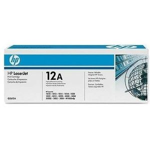 HP 12A Toner Negru imagine