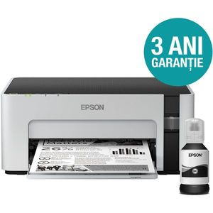 Imprimanta Epson M1120, Inkjet, Monocrom, Format A4, Wi-Fi imagine
