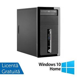 Calculator HP 400 G2 Tower, Intel Core i3-4130 3.40GHz, 8GB DDR3, 240GB SSD, DVD-RW + Windows 10 Home imagine