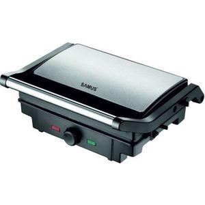 Gratar electric Samus GTS-1500X, 1500W (Negru/Inox) imagine