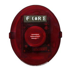 Sirena de incendiu cu flash adresabila UniPOS FD7204D, 80 dB, LED, UniTalk imagine
