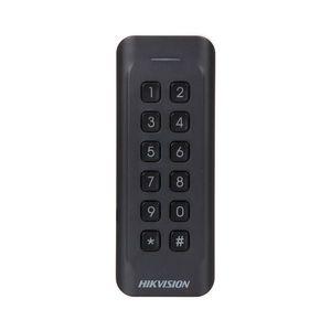 Cititor de proximitate cu tastatura RFID Hikvision DS-K1802EK, EM, 125 KHz, interior/exterior imagine