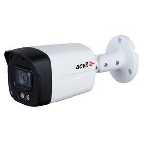 Camera supraveghere exterior Acvil Full Color ACV-FC40-2M-A 2.0, 2 MP, lumina alba 40 m, 3.6 mm, microfon imagine