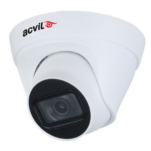 Camera supraveghere IP Dome Acvil ACV-IPDF30-4M 2.0, 4 MP, IR 30 m, 2.8 mm, PoE imagine