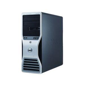 Workstation Dell T5500, Intel Xeon Hexa Core E5645 2.40-2.67GHz, 12GB DDR3, 500GB SATA, GeForce GT 605 1GB, DVD-RW imagine