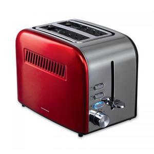 Prajitor de paine Heinner Crisp Passion HTP-850RDIX 850W 7 nivele de rumenire Rosu/Gri imagine