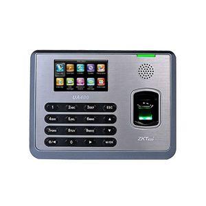 Controler de acces IP biometric ZKTeco TA-UA400ZMM-1, ecran 3 inch, parola, 3.000 amprente, 10.000 carduri, 100.000 evenimente imagine