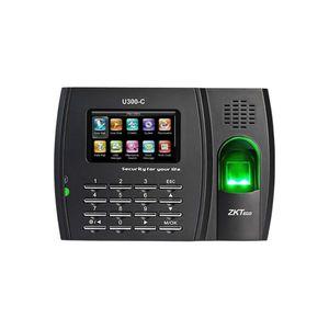Controler de acces IP biometric ZKTeco TA-U300CZMM-1, ecan 3 inch, parola, 3.000 amprente, 10.000 carduri, 100.000 evenimente imagine