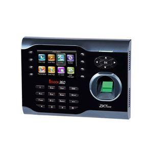 Controler de acces IP biometric ZKTeco TA-ICLOCK-360ZMM-1, ecran 3.5 inch, parola, 10.000 carduri, 8.000 amprente, 200.000 evenimente imagine