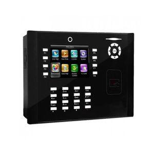 Controler de acces IP ZKTeco TA-ICLOCK-S880ZMM220-12, RFID, ecran 3.5 inch, parola, 50.000 carduri, 150.000 evenimente imagine