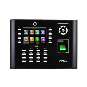 Controler de acces biometric IP ZKTeco TA-ICLOCK-680ZMM-1, ecran 3.5 inch, parola, 8.000 amprente, 10.000 carduri, 200.000 evenimente imagine