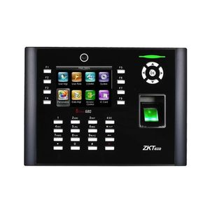 Controler de acces biometric IP ZKTeco TA-ICLOCK-680ZMM-12, ecran 3.5 inch, parola, 8.000 amprente, 10.000 carduri, 200.000 evenimente imagine